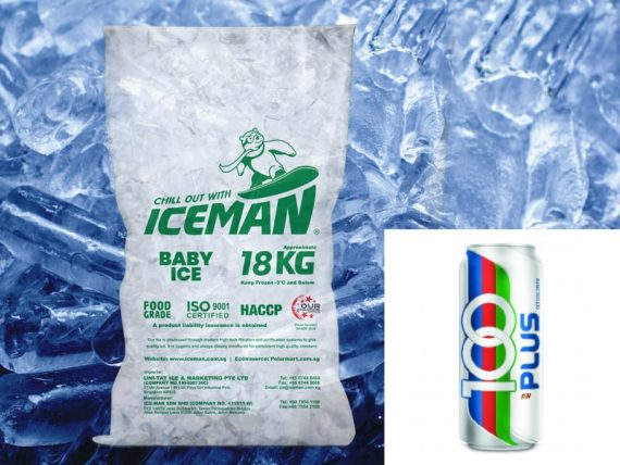 ice and 100plus